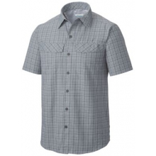 Men's Silver Ridge Multi Plaid S/S Shirt by Columbia