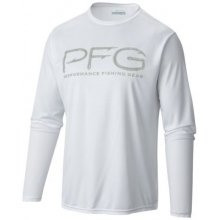 Men's Terminal PFG Hooks LS Tee by Columbia in Clinton Township Mi