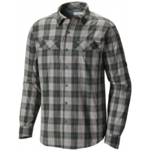 Men's Silver Ridge Plaid Long Sleeve Shirt by Columbia in Nibley Ut