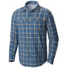 Men's Silver Ridge Plaid Long Sleeve Shirt by Columbia in Delafield Wi