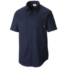 Men's Thompson Hill Solid Short Sleeve Shirt by Columbia in Okemos Mi