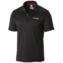 Men's Titan Ice Mens Zip Polo