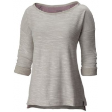 Women's Coastal Escape 3/4 Sleeve Shirt by Columbia in Coeur Dalene Id