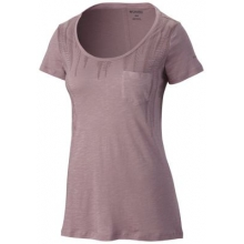Women's Lines Of A Feather Short Sleeve Tee by Columbia in Wichita Ks