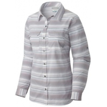 Women's Pilsner Peak Stripe Long Sleeve Shirt by Columbia in Broomfield Co