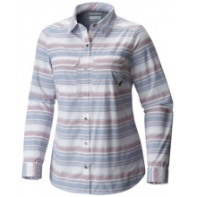 Women's Pilsner Peak Stripe Long Sleeve Shirt by Columbia in Fort Collins Co