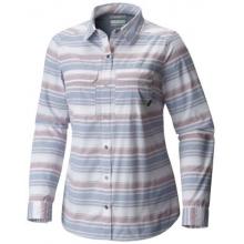 Women's Pilsner Peak Stripe Long Sleeve Shirt by Columbia in Broomfield Co