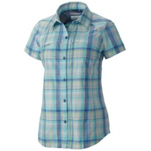 Women's Silver Ridge Multi Plaid S/S Shirt by Columbia in Okemos Mi