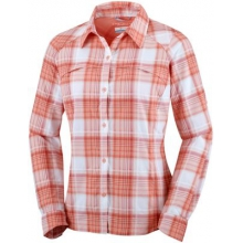 Women's Silver Ridge Plaid Long Sleeve Shirt by Columbia