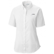 Women's Womens Tamiami II SS Shirt by Columbia in Uncasville Ct