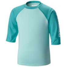 Kid's  Mini Breaker II S/S Sunguard Top by Columbia in Coeur Dalene Id