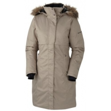 Women's Apres Arson Long Down Jacket by Columbia