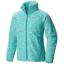 Girl's Benton Springs II Printed Fleece Jacket by Columbia in Coeur Dalene Id