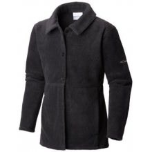 Girl's Benton Springs Button Up Fleece Coat