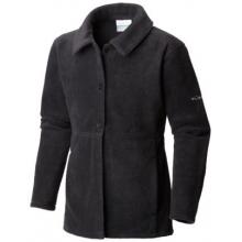 Girl's Benton Springs Button Up Fleece Coat