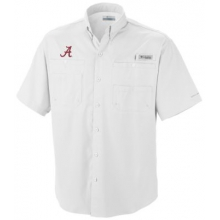 Collegiate Tamiami Short Sleeve Shirt by Columbia in Leeds Al