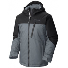 Boy's Double Grab Insulated Hooded Jacket by Columbia