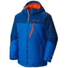 Boy's Double Grab Insulated Hooded Jacket by Columbia in Coeur Dalene Id