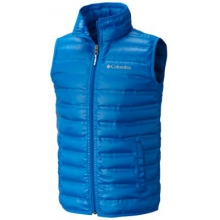 Kid's Flash Forward Down Vest - Youth by Columbia in Highland Park Il