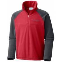 Boy's Glacial Fleece Half Zip Jacket by Columbia in Juneau Ak