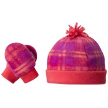 Infant Frosty Fleece Hat & Mitten Set