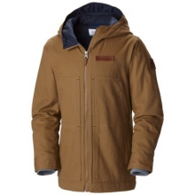 Boy's Loma Vista Hooded Fleece Lined Jacket by Columbia in Okemos Mi