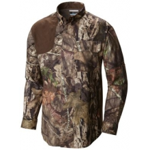 Men's Stealth Shot III Blood N' Guts Long Sleeve Woven Shirt by Columbia