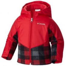 Boy's Steens Mountain Overlay Fleece Jacket by Columbia in Fort Collins Co