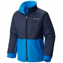 Boy's Steens Mountain Overlay Fleece Jacket by Columbia in Glen Mills Pa