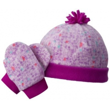 Toddler Frosty Fleece Hat & Mitten Set by Columbia in Chicago Il