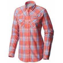Women's Beadhead Flannel Long Sleeve Shirt by Columbia