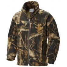 Boy's Zing III Printed Fleece Jacket by Columbia in Coeur Dalene Id