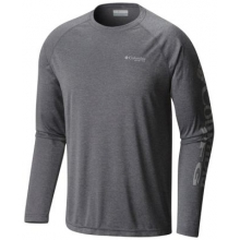 Men's Terminal Tackle Heather Long Sleeve Shirt by Columbia