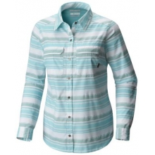 Women's Pilsner Peak Stripe Long Sleeve Shirt by Columbia