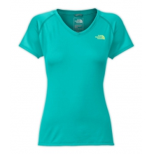 Women's S/S Reaxion Amp V-Neck Tee by The North Face in Pocatello Id