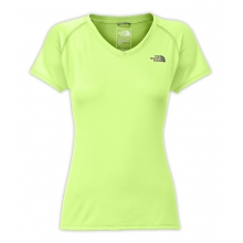 Women's Short Sleeve Rxn Amp V-Neck by The North Face in Cody Wy