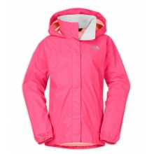Girl's Resolve Reflective Jacket by The North Face in Ramsey Nj
