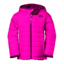 Toddler Girls Reversible Mossbud Swirl Jacket by The North Face in Okemos Mi