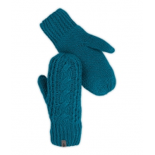 Women's Cable Knit Mitt by The North Face in Wayne Pa