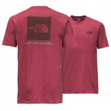 Men's S/S Red Box Tee by The North Face in Madison Al
