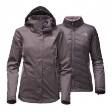 Women's Mossbud Swirl Triclimate Jacket by The North Face in Metairie La