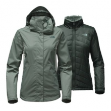 Women's Mossbud Swirl Triclimate Jacket by The North Face in Kirkwood Mo