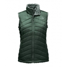 Women's Mossbud Swirl Reversible Vest by The North Face in Old Saybrook Ct