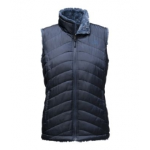 Women's Mossbud Swirl Reversible Vest by The North Face in Iowa City Ia