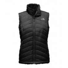 Women's Mossbud Swirl Reversible Vest by The North Face in Park Ridge Il