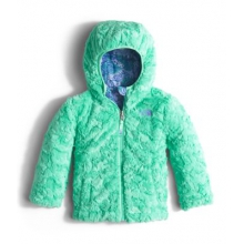 Todd Girl's Reversible Mossbud Swirl Jacket by The North Face