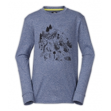 Boy's LS Reaxion Tee by The North Face in Truckee Ca