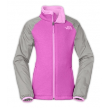 Girl's Silver Skye Track Jacket by The North Face in Succasunna Nj