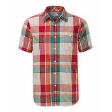 Men's S/S Exploded Plaid Shirt