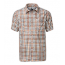 Men's S/S Off The Grid Plaid Shirt in Fort Worth, TX
